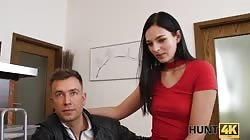 Hunt4k E23 Leane Lace - I'll fuck your hot wife for bitcoin