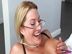 Tricky mommy enjoying free of charge sex with her step daughter