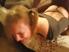 Couple have fun with BBC