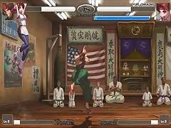 King of Fighters XIII hentai Kensou VS Yuri