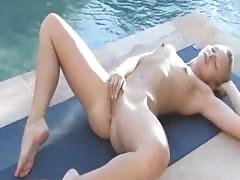 Lena's Poolside Playtime