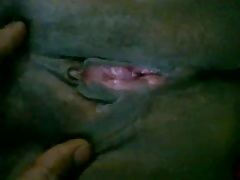 Throbbing pussy of an Indian Housewife