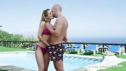 PrivateStars Alexis Crystal Gets Horny In The Pool
