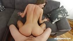 Hunterpov Sara Kay - Fine brunette in steaming hot POV