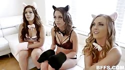BFFS Jade Nile , Karla Kush and Kimber Woods - Purrrfect Pussies
