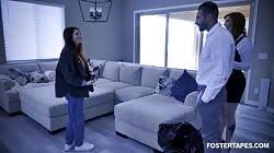 FosterTapes Lauren Phillips, Aria Carson - Stuffing The Turkey