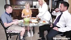 Freeuse Fantasy - Step Family Dinner