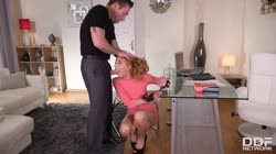 DDFNetwork - marilyn crystal student spanked into submission