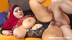 SexWithMuslims E144 Laura Titaphea - Horny husband wants great blowjob from his BBW wife